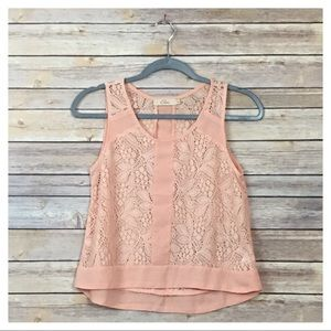 Nordstrom's Elodie Lace Tank Top